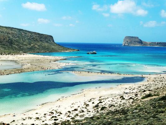 Griechenland Kreta Meereslandschaft