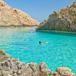 Kreta im August: 8 Tage im Apartment mit Flug & Transfer für 298€