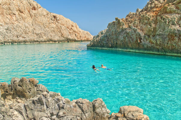 Griechenland Kreta Paar