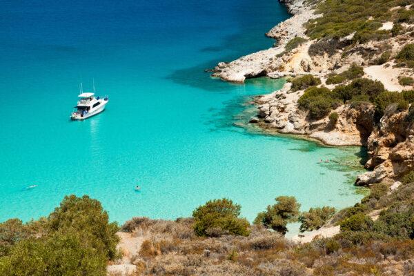 Griechenland Kreta Schiff Bucht