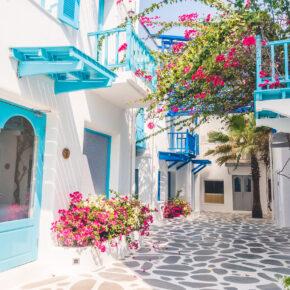 Sonniges Griechenland: 4 Tage auf Mykonos mit tollem 3.5* Hotel & Flug nur 103€