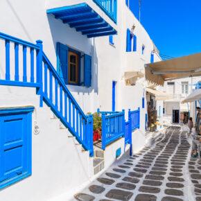 Sonnenanbeter aufgepasst: 8 Tage Mykonos mit tollem Apartment & Flug nur 192€