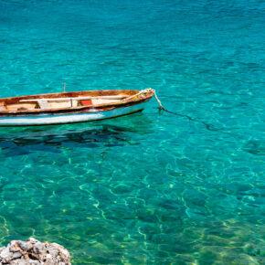 Griechenland Peloponnes Boot