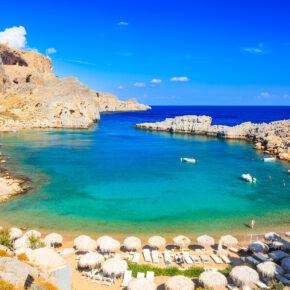 Rhodos: 7 Tage im TOP 5* Hotel mit Halbpension, Flug &Transfer nur 284€