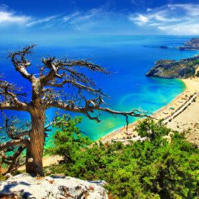 Griechenland im August: 7 Tage auf Rhodos mit 3* Hotel, Flug & Transfer nur 241€