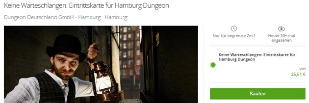 Hamburg Dungeon Eintritt