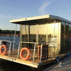 Hausboot Kamien Pomorski Aussen