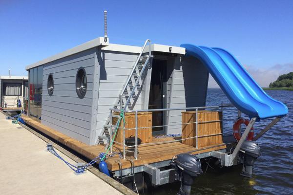 Hausboot Kamien Pomorski Rutschen
