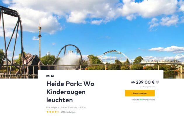 Heidepark 2 Tage