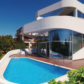 Kroatien Sommer 2021: 8 Tage in luxuriöser High-Tech Villa mit Pool, Whirlpool & Sauna ab 282€ p.P.