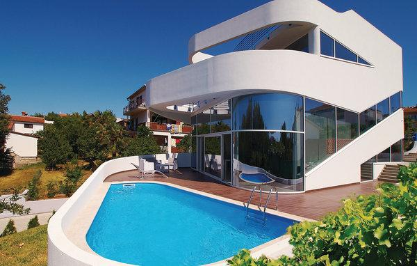 High Tech Villa Kroatien Aussen