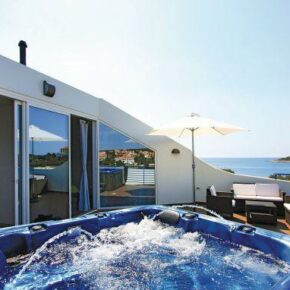 High Tech Villa Kroatien Whirlpool