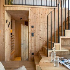 Hochleger Luxury Chalet Resort Holz