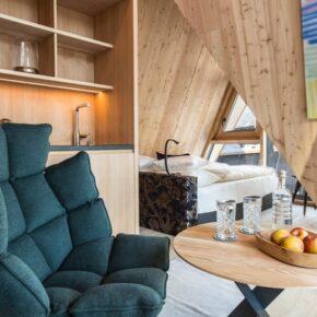 Hochleger Luxury Chalet Resort Innen