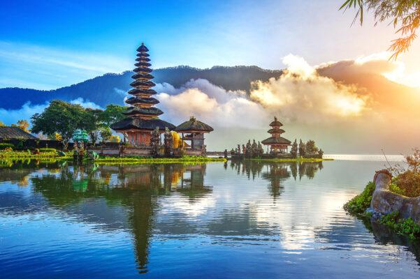Indonesien Bali Pura Ulun