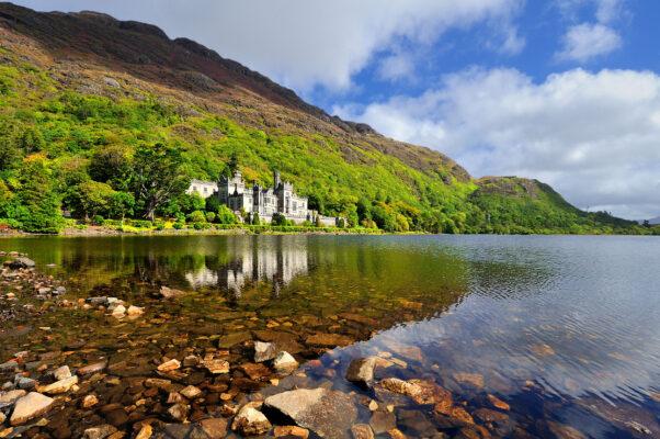 Irland Kylemore Abbey Connemara