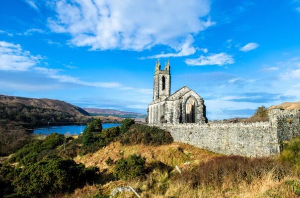 Irland Poisoned Glen Church Donegal