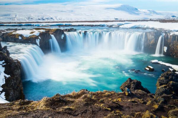 Island Godafoss Wasserfall