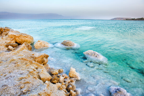Israel Totes Meer Sonnenuntergang