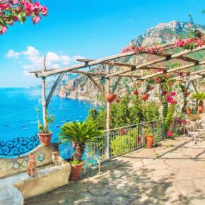 Amalfiküste über's Wochenende: 4 Tage im eigenen Apartment mit Flug nur 81€