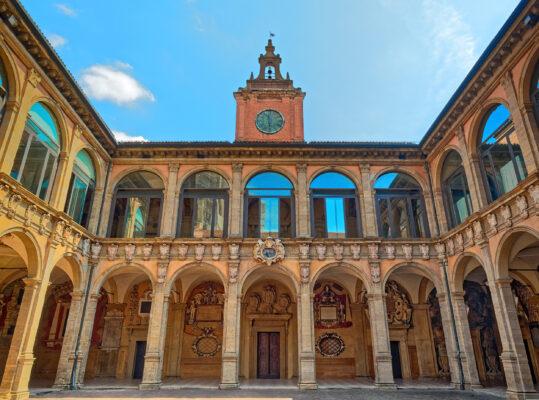 Italien Bologna Archiginnasio