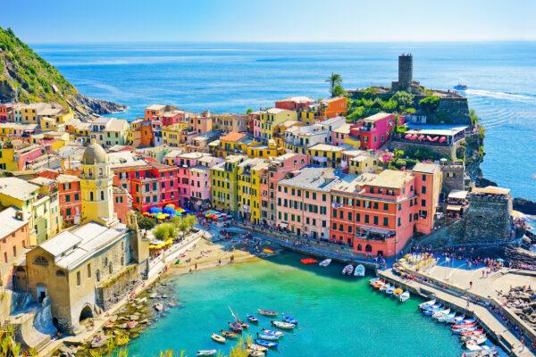 Italien Cinque Terre Küste