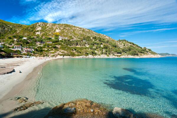 Italien Elba Fetovaia Beach