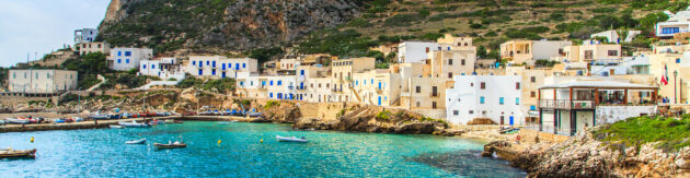 Italien Sizilien Levanzo