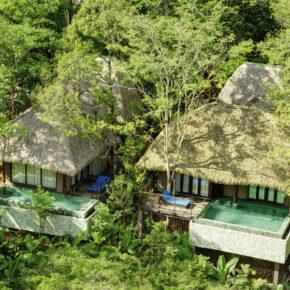 Paradies: 10 Tage Thailand in privater TOP Pool-Villa mit Frühstück, Flug, Transfer & Zug nur 2.359€