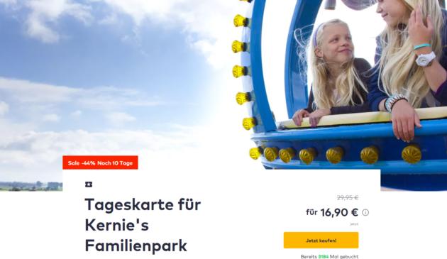 Kernies Familienpark Gutschein