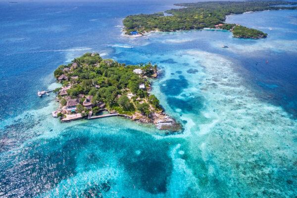 Kolumbien Rosario Islands