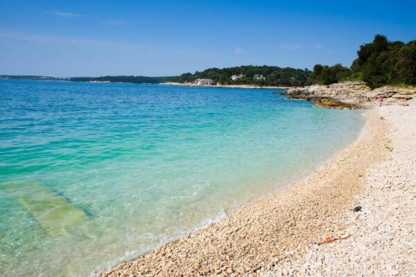 Kroatien Pula Strandabschnitt