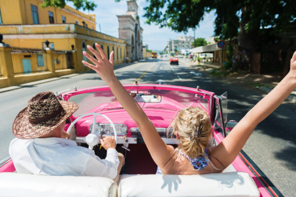 Kuba Havanna Autofahrt