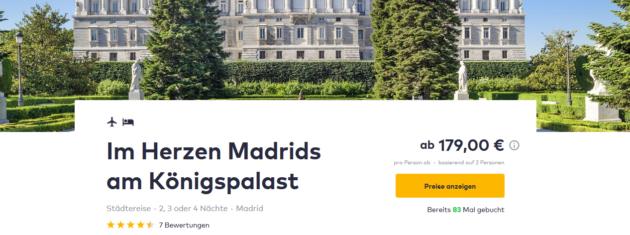 3 Tage Madrid