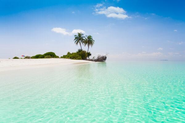 Malediven Atoll Korallenriff