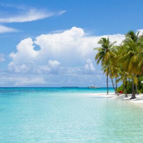 Urlaub im Paradies: 8 Tage Malediven mit TOP 5* Overwater Villa inkl. Halbpension, Flug, Transfer & Zug für 2.473€