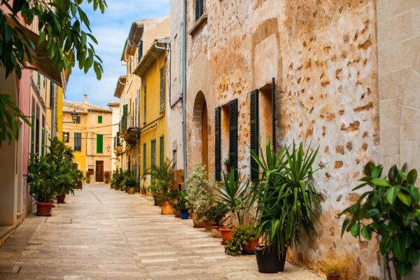 Mallorca Alcudia Stadt