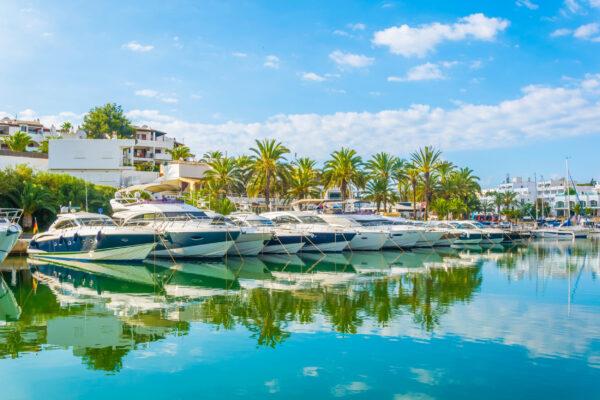 Mallorca Cala d'Or Hafen