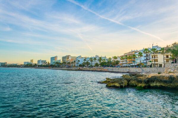 Mallorca Cala Millor Skyline