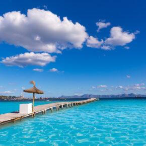 Mit der Familie auf Mallorca: 7 Tage im TOP 4* Hotel mit Flug, Transfer & Zug für 198€