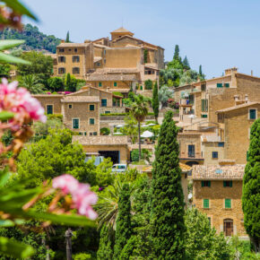 Mallorca Deia Häuser