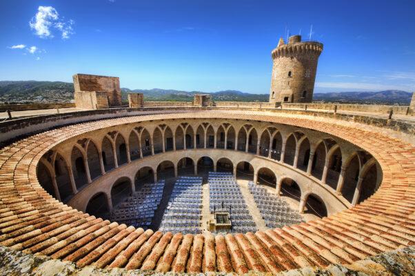 Mallorca Palma Burg