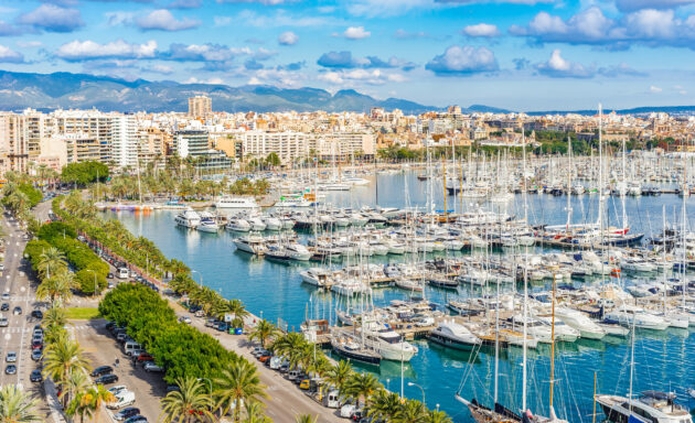 Mallorca Palma Hafen