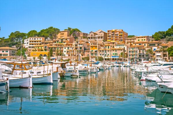 Mallorca Port de Soller Hafen