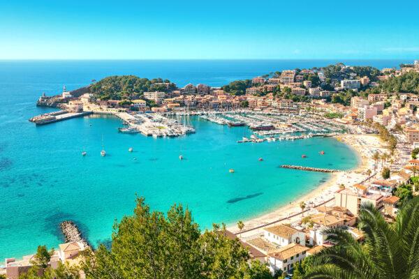 Mallorca Port de Soller Strand