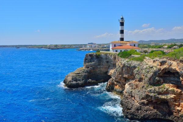 Mallorca Porto Colom Leuchtturm