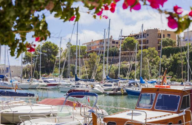 Mallorca Porto Cristo Hafen