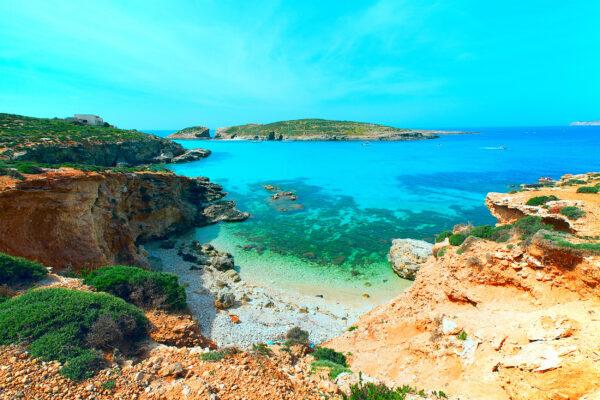Malta Bucht Strand