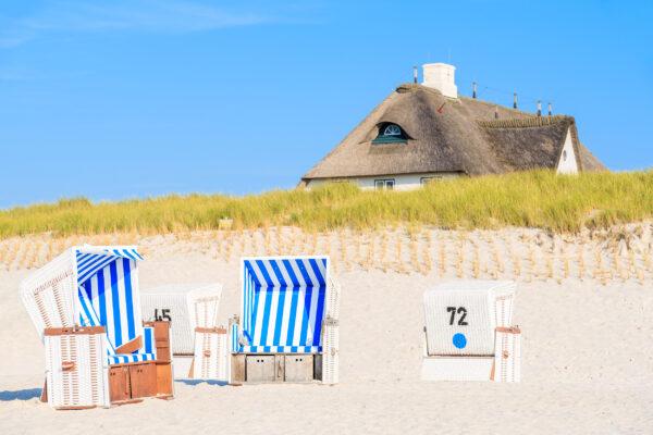 Niederlande Dünen Strandkorb
