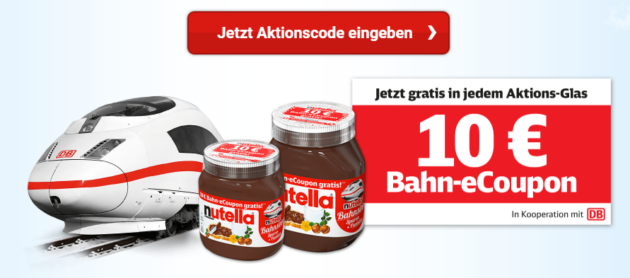 Nutella Aktion